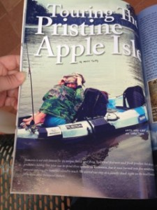 Tuffy's Adventure in a Magazine